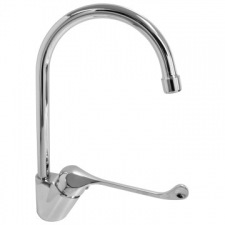 Teal Elbow Action One Hole Sink Mixer - BluTide