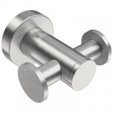 Bathroom Butler - 4600 Double Robe Hook Brushed Stainless Steel