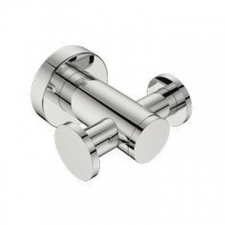 Bathroom Butler - 4600 Double Robe Hook Polished Stainless Steel
