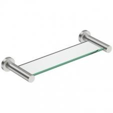 Bathroom Butler - 4600 Glass Shelf 330mm Brushed Stainless Steel