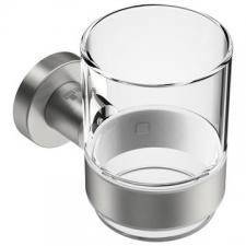 Bathroom Butler - 4600 Tumbler Holder w/ Tumbler Brushed Stainless Steel