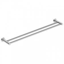 Bathroom Butler - 4600 Double Towel Rail 800mm Polished Stainless Steel