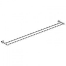 Bathroom Butler - 4600 Double Towel Rail 1100mm Polished Stainless Steel