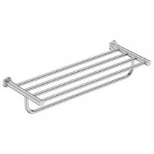 Bathroom Butler - 4600 650mm Towel Shelf & Hang Bar Polished Stainless Steel