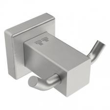 Bathroom Butler - 8500 Double Robe Hook Brushed Stainless Steel