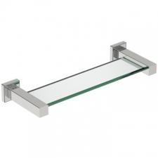 Bathroom Butler - 8500 Glass Shelf 330mm Brushed Stainless Steel