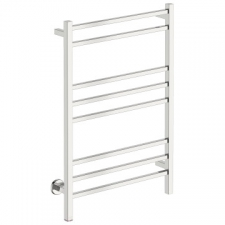 Bathroom Butler - Cubic Wide Heated Towel Rail 8 Bar PTS Polished Stainless Steel