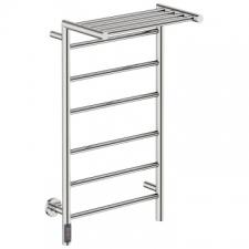 Bathroom Butler - Edge Straight Heated Towel Rail 10 Bar TDC Polished Stainless Steel