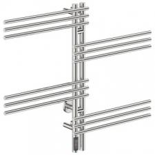 Bathroom Butler - Loft Duo Wide Heated Towel Rail 12 Bar TDC Polished Stainless Steel