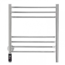 Bathroom Butler - Natural Broad Heated Towel Rail 7 Bar TDC Polished Stainless Steel