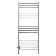 Bathroom Butler - Natural Straight Heated Towel Rail 15 Bar PTS Polished Stainless Steel