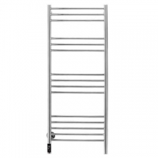 Bathroom Butler - Natural Straight Heated Towel Rail 15 Bar TDC Polished Stainless Steel