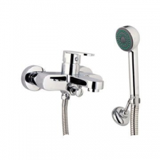 Comap - Kappa Exposed Bath Mixer Incl Hand Shower Chrome