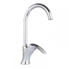 Comap - Omega Sink Mixer Single Lever Pillar-Mounted No Pop-Up Chrome