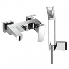 Comap - Delta Bath Mixer Exposed incl Hand Shower Chrome