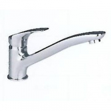 Comap - Gamma Sink Mixer Single Lever Pillar-Mounted No Pop-Up Chrome