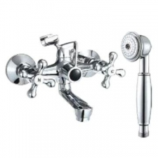 Comap - Sigma Bath Mixer Exposed incl Hand Shower Chrome