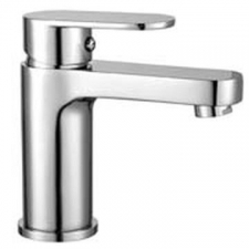 Comap - Kappa Basin Mixer Single Lever Pillar-Mounted No Pop-Up Chrome