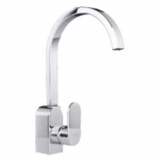 Comap - Kappa Sink Mixer Single Lever Pillar-Mounted No Pop-Up Chrome