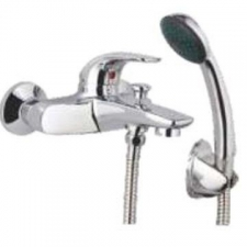 Comap - Omega Bath/Shower Mixer incl Hand Shower No Pop-Up Chrome