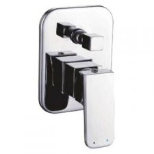 Comap - Delta DZR Bath/Shower Mixer & Diverter Undertile Chrome