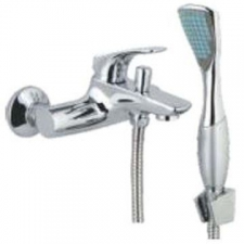 Comap - Gamma Bath/Shower Mixer incl Hand Shower No Pop-Up Chrome