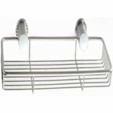 Pearl Shower Basket Polished Stainless Steel