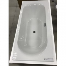 Pearl Built-In Bath 1800x800mm White - Cape Plumbing & Bathroom Supplies