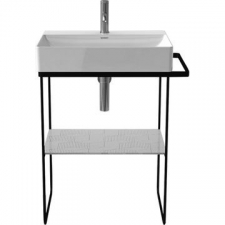Duravit - DuraSquare Metal Console Matt Black 0031014600