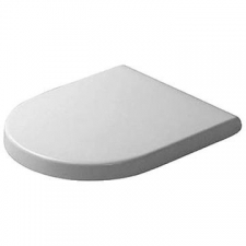 Duravit - Starck 3 Toilet Seat & Cover Softclose White Alpin