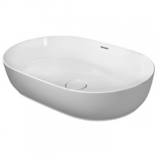 Duravit - Luv Basin Countertop Without Overflow 600mmx400mm White Alpin
