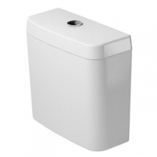 Duravit - D-Code Close-Coupled Cistern with Dual Flush Mechanism White