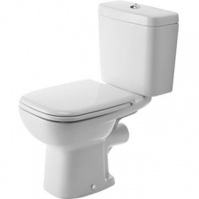Duravit - D-Code Close Couple Pan 355x650mm White Alpin