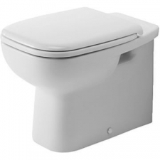 Duravit - D-Code Independent Floorstanding Pan 355x560mm White Alpin