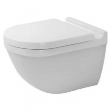 Duravit - Starck 3 Wall-Mounted Pan Durafix Included 365x540mm White