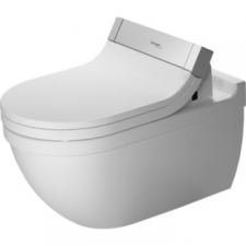 Duravit - Starck 3 SensoWash Wall-Hung Pan 370x620mm With WonderGliss White Alpin