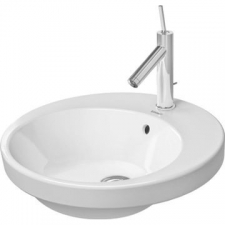 Duravit - Starck 2 480 x 480mm Drop-In Basin *** To Be Discontinued White Alpin