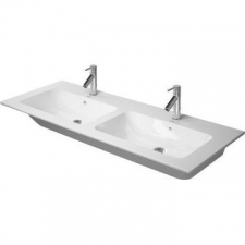 Duravit - ME by Starck Basin Wall-Hung Double Bowl 1300x490mm White Alpin