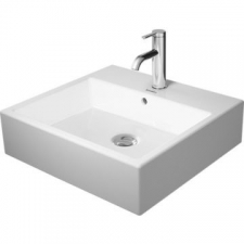 Duravit - Vero Air Counter Top Basin with Glazed Background 500x470mm White Alpin