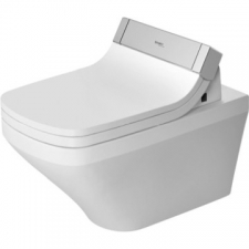 Duravit - DuraStyle Rimless SensoWash Wall-Mounted Pan 376x620mm w/WonderGliss White Alpin
