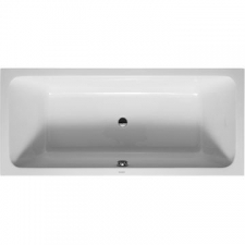 Duravit - D-Code Rectangle Built-In Bath 1800x800mm White