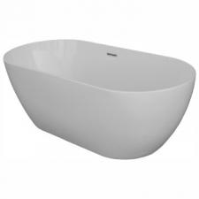 Duravit - Trento Freestanding Bathtub w/Seamless Acrylic Panel 1680x800mm White