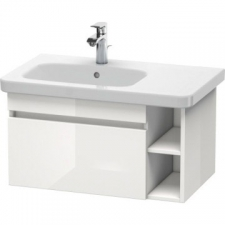 Duravit - Durastyle Vanity Unit Wall-Mounted 730x448mm 1 Drawer White High Gloss