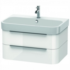 Duravit - Happy D.2 Wall-Hung 2 Drawer Vanity 775x480mm White