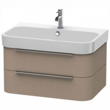 Duravit - Happy D.2 Wall-Mounted 2 Drawer Vanity 775mm Linen