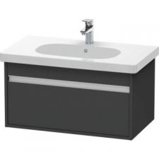 Duravit - Ketho Vanity Unit 800x455mm 1 Drawer Graphite Matt