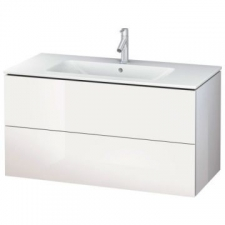 Duravit - L-Cube Vanity Cabinet 2 Drawer Vanity 1020mm for 233610 High Gloss White