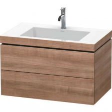 Duravit - L-Cube Furniture With Vero Air Bonded Basin 800x480mm Ticino Cherry Tree Decor