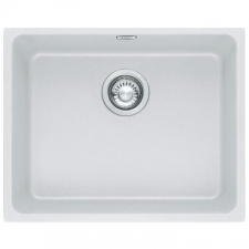 Franke - Kubus Sink Undermount Single Bowl 540x440x200mm White
