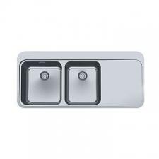 Franke - Sinos SNX221 Sink RHD Dbl Bowl 1120x510x175mm SS